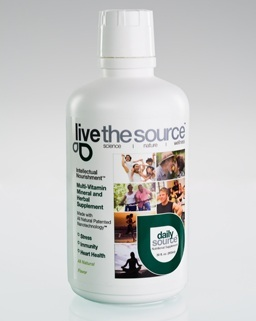 Live the Source bottle